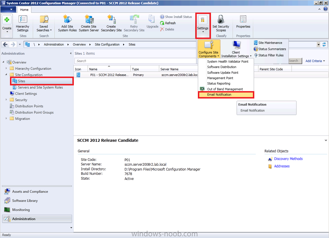 using SCCM 2012 in a LAB - Part 5  Enable the Endpoint Protection