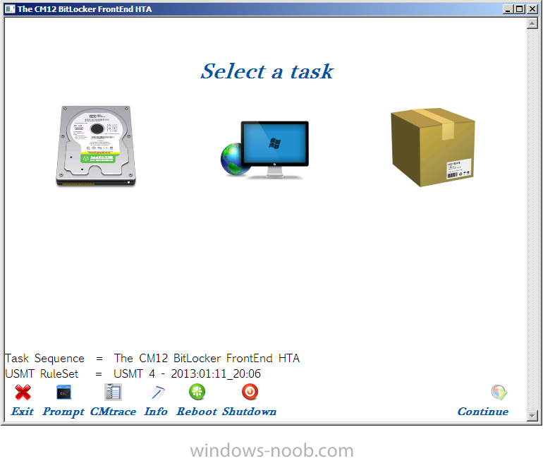 The CM12 BitLocker FrontEnd HTA.png