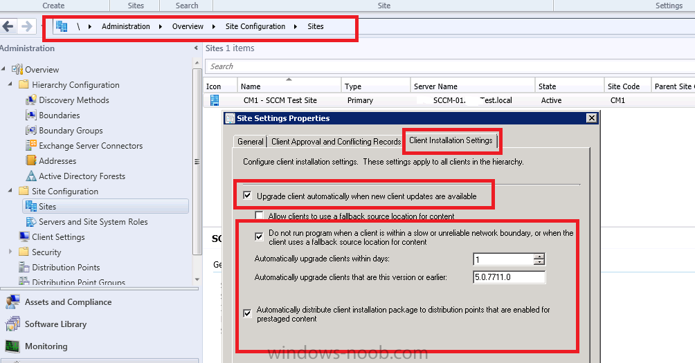 using SCCM 2012 in a LAB - Part 4  Configuring Client