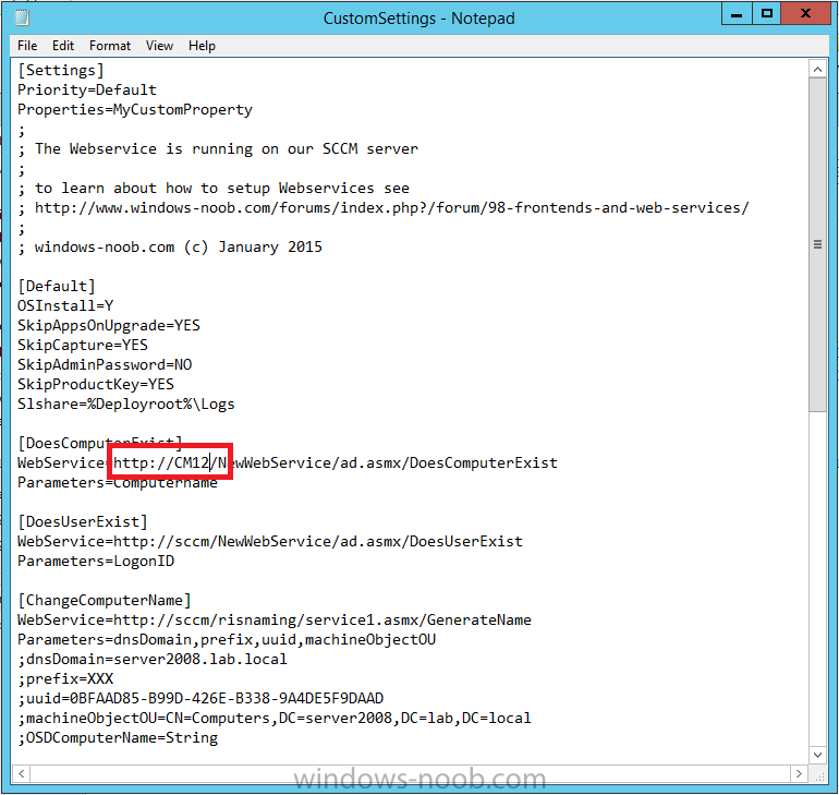 webservice url change.png