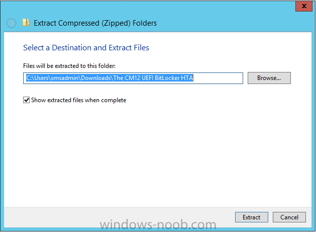 select destination for extracted files.png