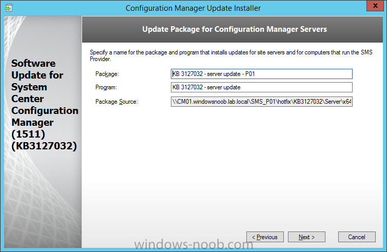 update package for configuration manager servers.png