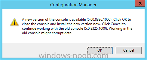 a new version of configuration manager is installed.png