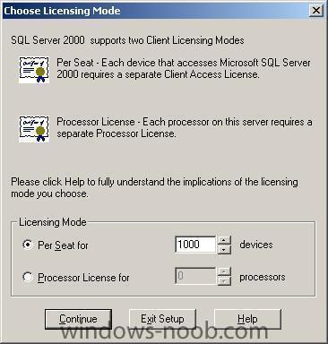 how can I install SQL server 2000 standard edition - SQL