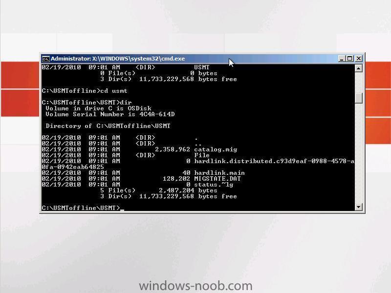 migrated data stored in usmt offline folder.jpg