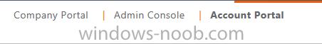 Company Portal - Admin Console - Account Portal.png