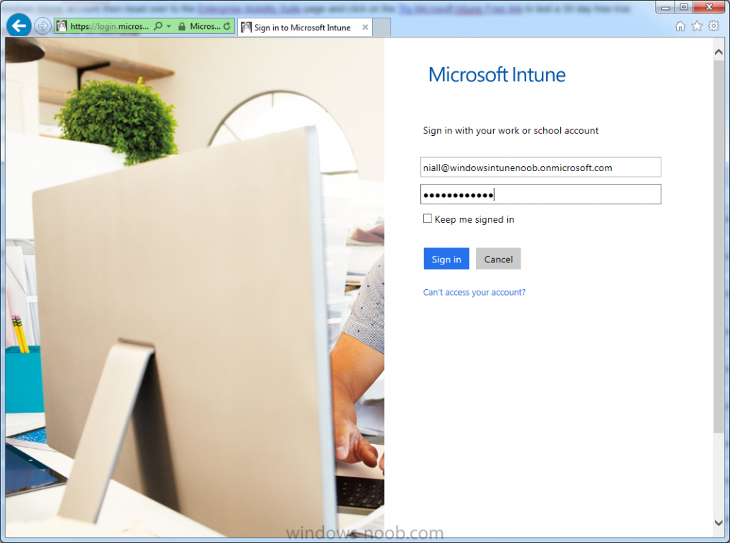 login with your onmicrosoft com account.png
