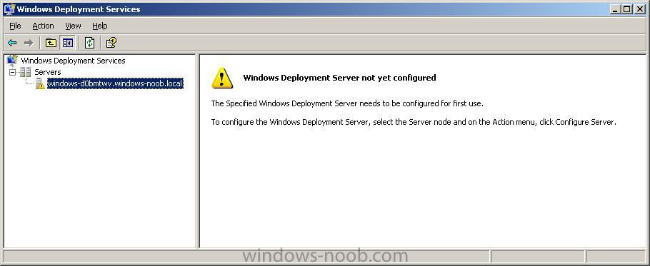 Windows Deployment Services (WDS) - Windows Deployment Services (WDS