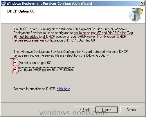 Dhcp wds 67