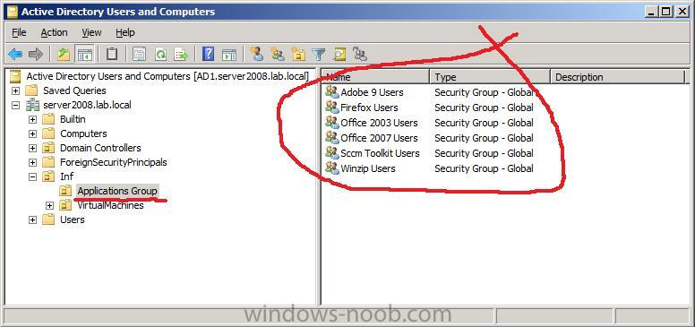 Group Members Active Directory 53