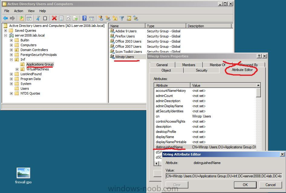 How can I Deploy Applications based on AD security group