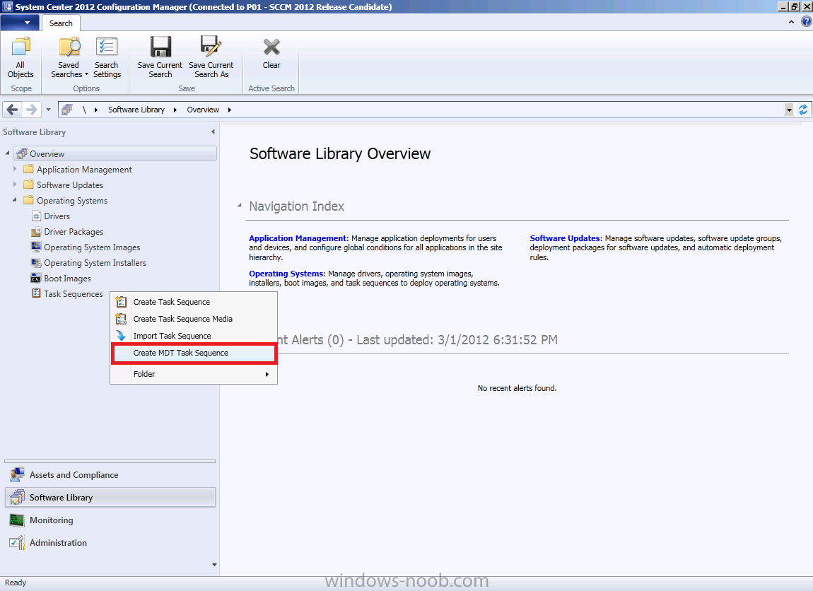 using SCCM 2012 RC in a LAB - Part 16  Integrating MDT with