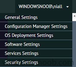 ConfigMgr Portal settings.png
