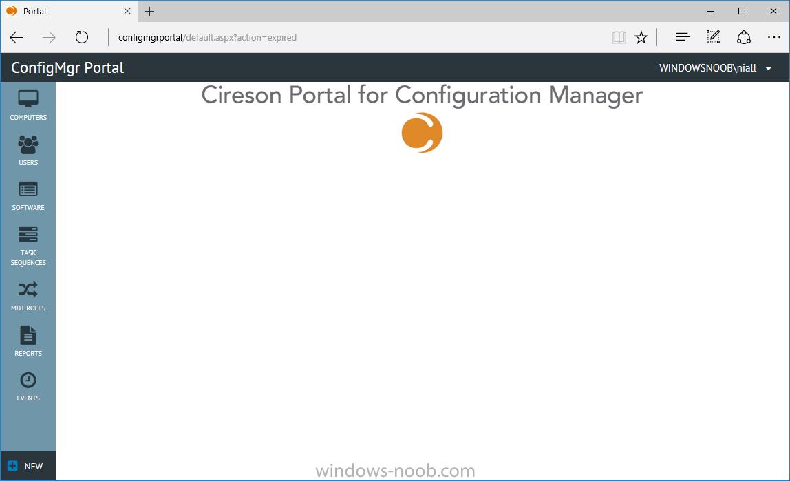 cireson blank portal.png