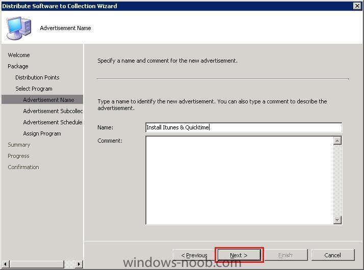 HOWTO: Install itunes using SCCM - Deploy software, applications and