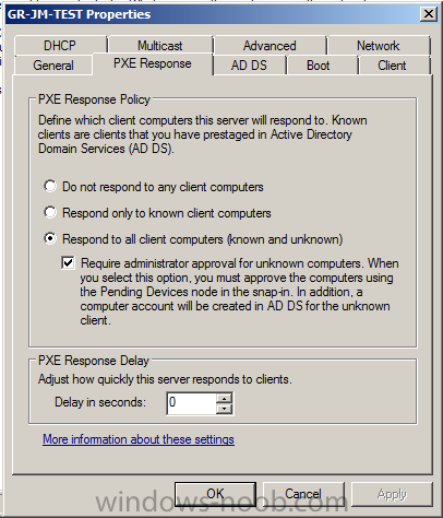 Pxe boot Issues    - Windows Deployment Services (WDS) - www