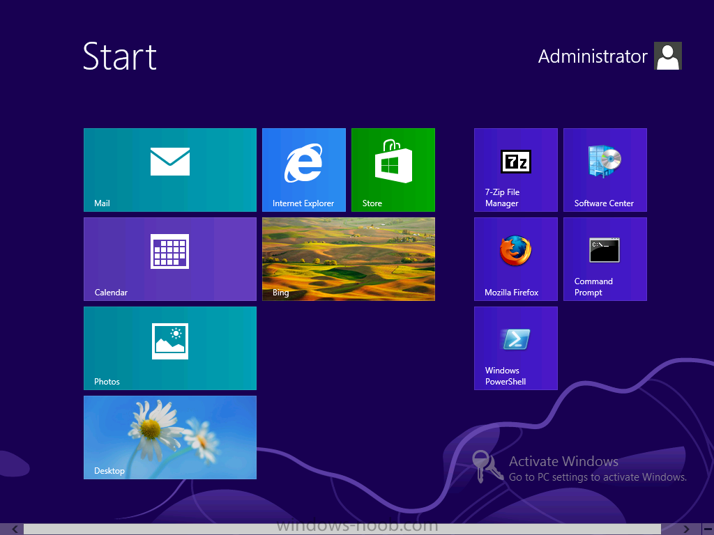 newly designed Windows 8 start screen.png