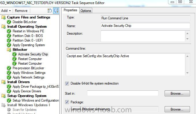 Problems to enable TPM Chip/Bitlocker with Lenovo