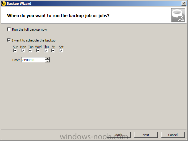 how to run check disk in setup