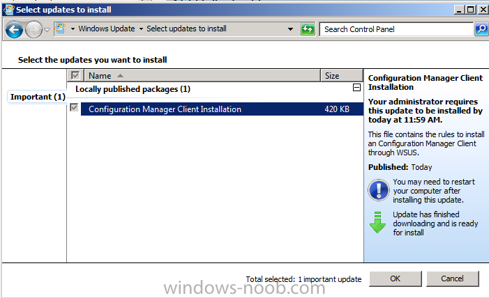 using System Center 2012 Configuration Manager - Part 5