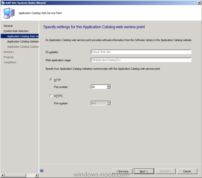 application catalog web service point settings.png