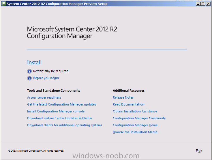 System Center 2012 R2 Configuration Manager setup.png