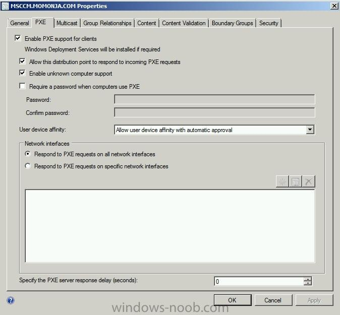 SCCM PXE not booting up - Configuration Manager 2012 - www