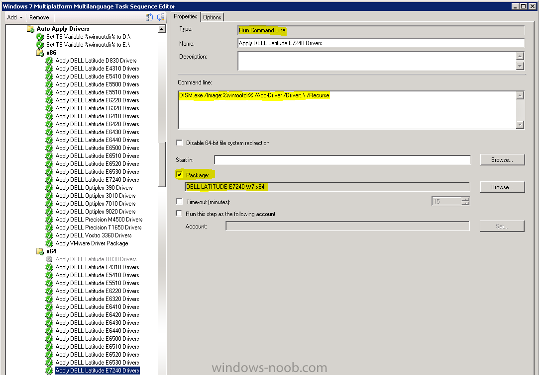 SCCM 2012 OSD Apply Driver Packages without importing them
