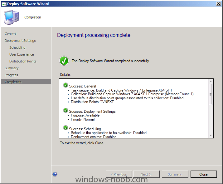 using SCCM 2012 beta2 in a LAB - Part 7  Deploying Windows 7