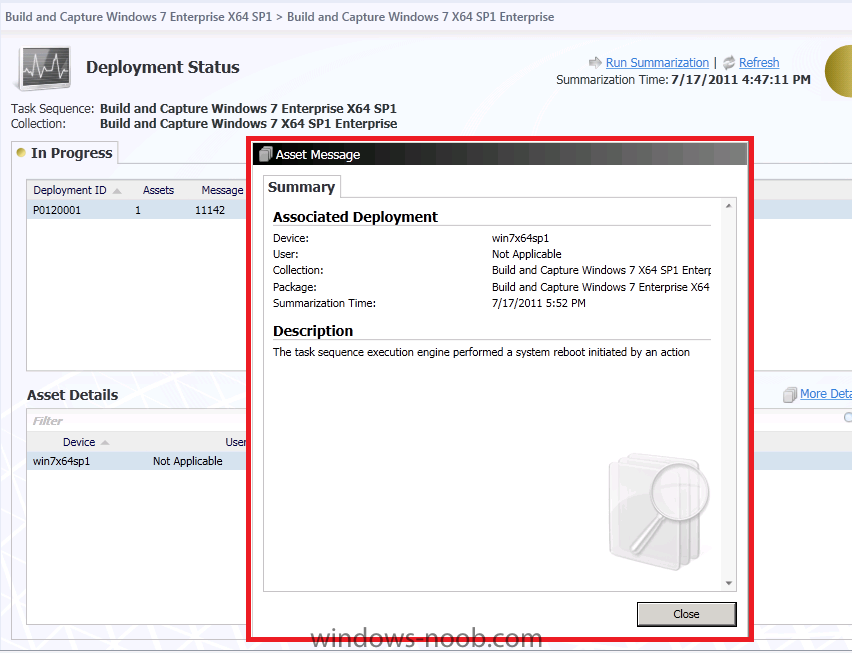 using SCCM 2012 beta2 in a LAB - Part 8  Deploying Windows 7