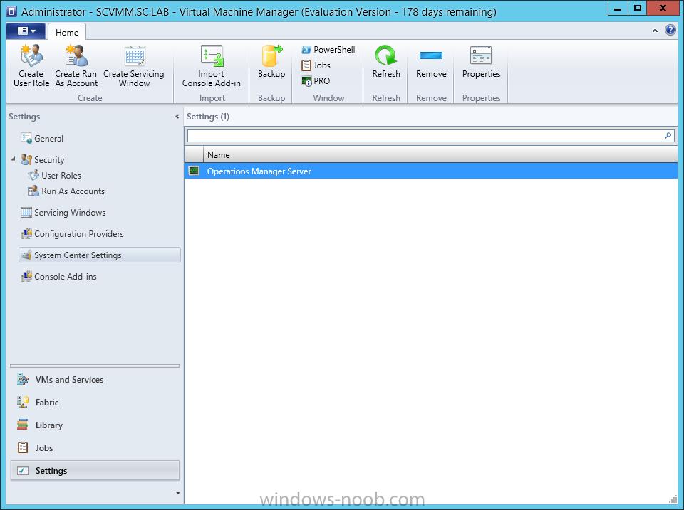 SCVMM 2012 SP1 in a LAB – Installation (Part G – Install Forecasting