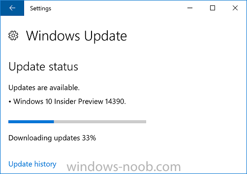 Announcing Windows 10 Insider Preview Build 14390 for PC and