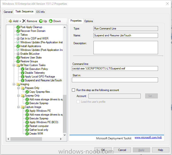 Windows 10 - 1152 2 image build