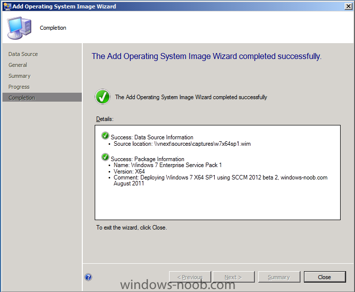add operating system image wizard completed.png
