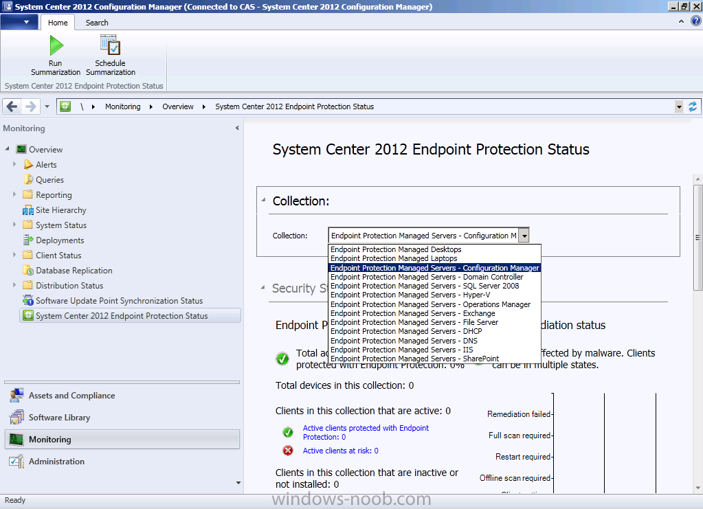 System center 2012 endpoint protection not updating