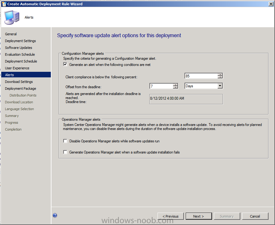 using System Center 2012 Configuration Manager - Part 6