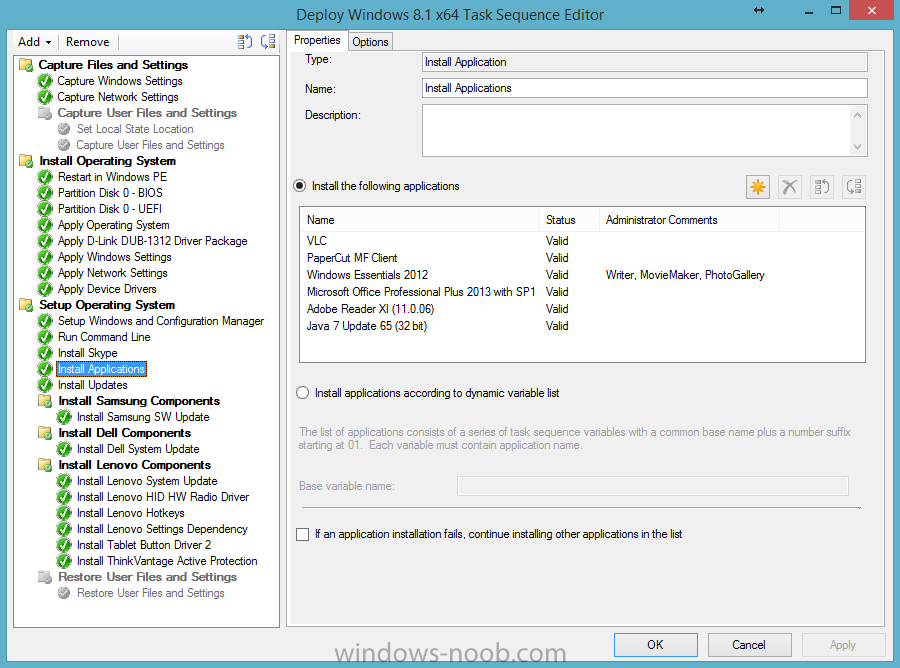 Application Install Hang during OSD - Configuration Manager