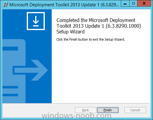 MDT 2013 update 1 installed.png
