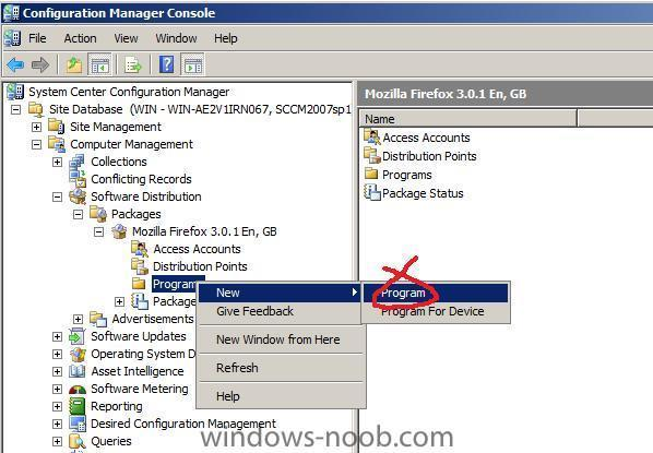 how can I deploy an application in SCCM 2007 - Deploy