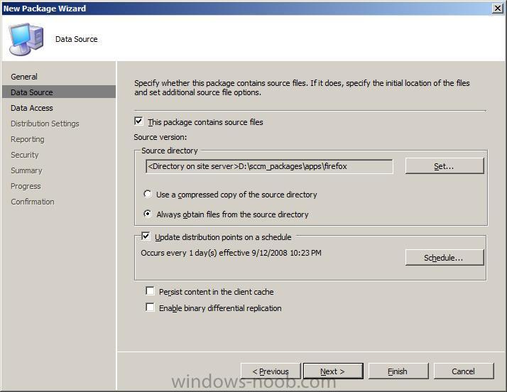 Updating Versions of FireFox with SCCM - Deploy software