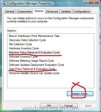 how can I deploy an application in SCCM 2007 - Deploy software