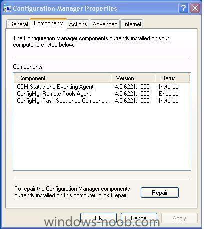 Remove SCCM 2007 client from a PC - Troubleshooting, Tools, Hints