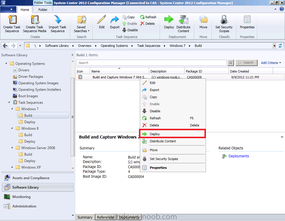 Operating system deployment boot images and distribution point - Using System Center 2012 Configuration Manager Part 7