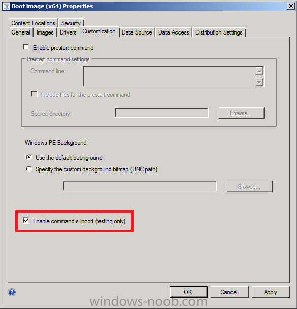how to open system configuration from command prompt
