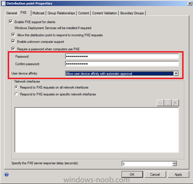 PXE password and UDA options.png