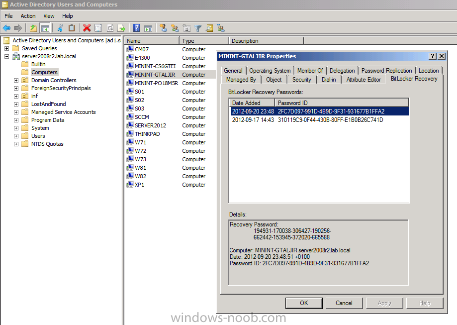 how can I Pre-Provision BitLocker in WinPE for Windows 8 deployments ...