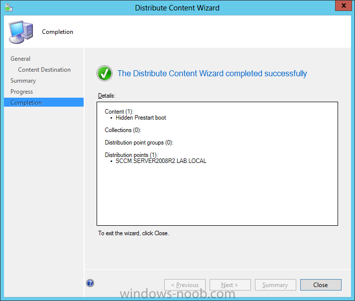 distribute content wizard completed successfully.png