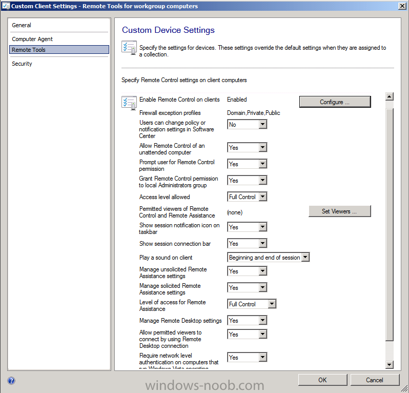 Custom client Settings - remote tools for workgroup computers.png
