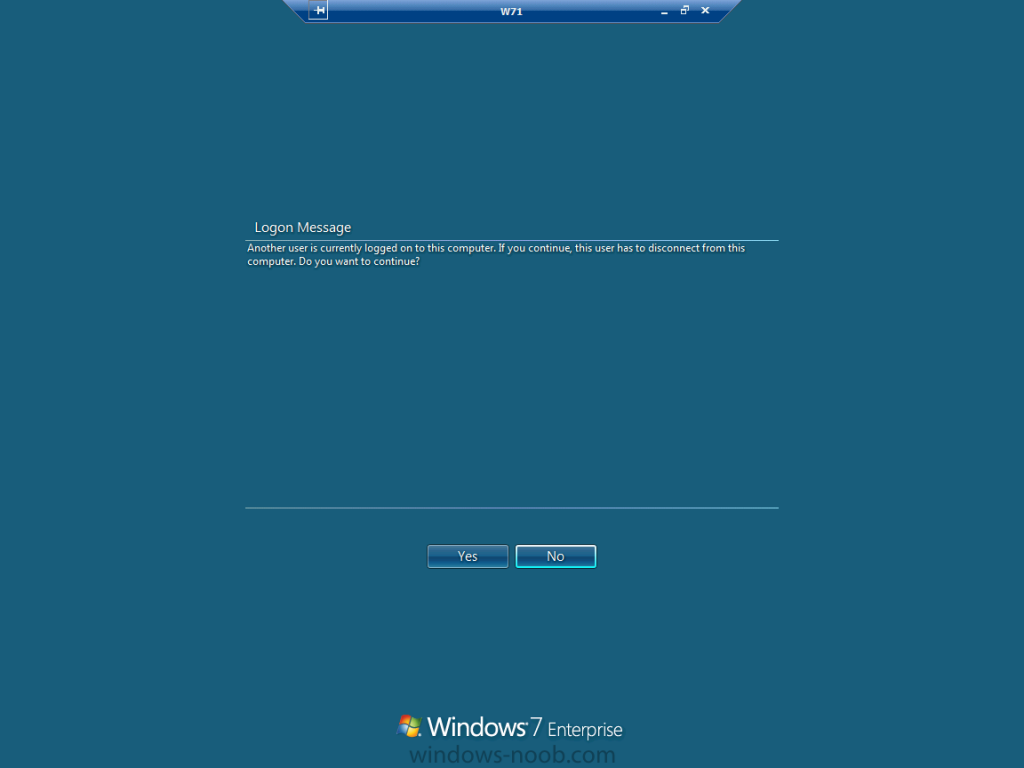 Logon Message annother user is currently logged on to this computer.png