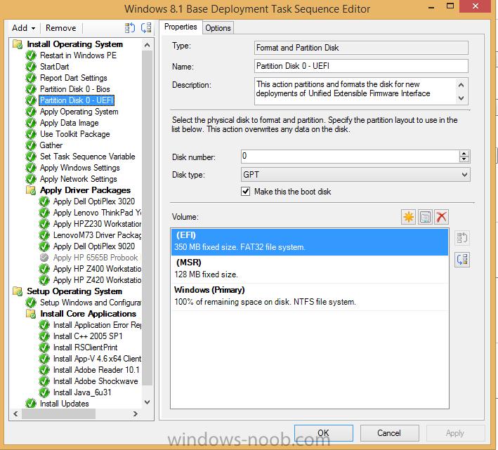 Dell OptiPlex 3020 UEFI - Configuration Manager 2012 - www